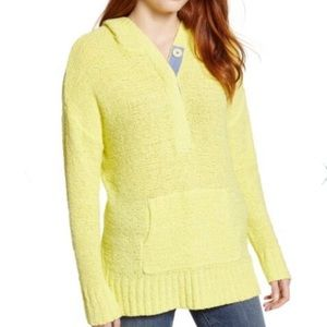 Carlson Beachy Hooded Knit Sweater